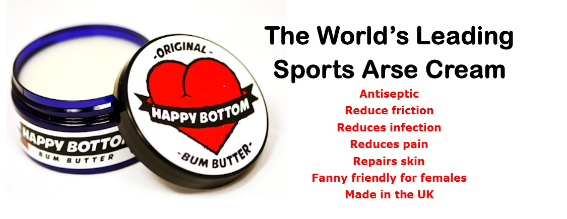 Bum butter cycling chamois cream