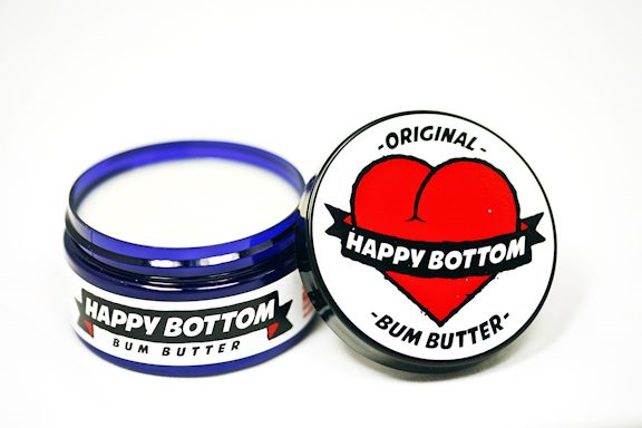Happy Bottom Bum Butter Vegan Cycling Chamois Butter